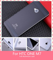 Full Aviation aluminum  Case For HTC One M7 ,Xibicen Metal case with screen film