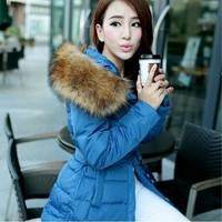 Free shipping!2013 new xxxxl autumn winter fashion white duck down 95% thickening fur collar down outerwear down coat jacket 170