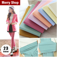 2015 New Women's Sexy Thin Candy Color Long Stockings Pantyhose Tights 140D Sexy Stockings 5%off Min.order $10