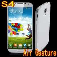 "S4 i9502 i9508 android 4.2 MTK6572 1.3GHz dual sim 5.0"" Screen 4G ROM 3G GPS Air Gesture call phone russian magyar free shipping"