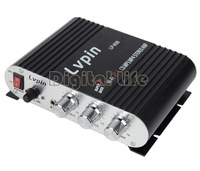 new 2013 200W 12V Mini Hi-Fi Amplifier Radio MP3 Stereo for Home Amplifier for Car Motorcycle Boat 18717