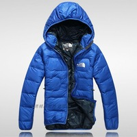 Men Wear Thick Winter Outdoor Windbreaker Heavy Coats Down Jacket Clothes  L XL XXL  Black,Blue,Green,Red  Free Shipping