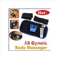 Hot !!Free Shipping , Dropshipping 60set AB Gymnic Electronic Muscle Arm leg Waist Massage Belt with retail box