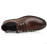 Wholesale shoes Free Shipping New 2013 Mens Loafers Shoes Oxfords Genuine Leather Shoes Business Dress Shoes Flats For Men