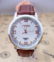High quality Brand leather watch men sports military watch Fashion quartz wrist watch londa-2