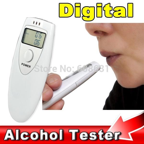 2014 Hot Portable Mini LCD Display Digital Alcohol Breath Tester Professional Breathalyzer Alcohol Meter Analyzer Detector(China (Mainland))