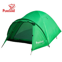 Promotion!2013 New Pureland Tents Four Seasons Tent Outdoor 2 Person Double Tent Casual Tent Camping