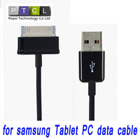 For Samsung Galaxy Tab P6200 P6800 P1000 Tab P7100 P7300 P7500 N8000 Note N5000 Tablet PC USB Sync Cable charger (with logo)