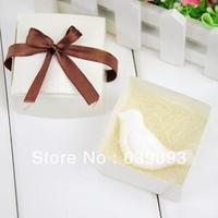 Min Order $10 (mixed order) hot-selling elegant wedding gift mini  body milk whitening incense soap leaves series - -bird shaped