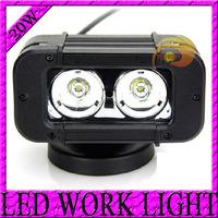 "Free Shipping 5"" 20w 20 Watt LED LIGHT BAR LED Work Light Spot Pencil 20W Offroad Light 9V-70V 4WD ATV UTV SUV Truck Drive Light"