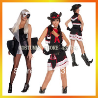 Free Shipping Retail(1 pieces)and Wholesale Halloween Sexy Costumes  Fancy Dress Women Carnival Costumes JSWC-Mix114
