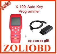 OP-COM as gift Super quality free update online x-100+ original auto key programmer x100 x 100 key pro best service DHL free