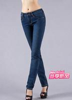 Free Shipping ! new arrival 2014 Autumn fashion women jeans skinny denim