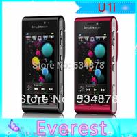 U1i original unlocked Sony Ericsson U1 Satio mobile phone GSM 3G 12MP WIFI GPS wholesale free shipping
