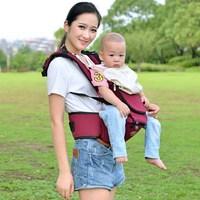Hot portable baby carrier sling multiunctional baby hipseat carrier backpack double shoulder baby suspenders BD56