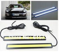 2* 12V  17CM  LED COB Auto Car Driving Daytime Running Light DRL Fog Lamp day time running lamps