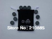 2013 NEW! ROUND column Whisky stones 9pcs set in velvet bag, 100% natural!! great gift + free shipping!