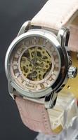 Hand wind Mechanical Women's Watches Diamond Fashion Ladies Watch The Trend Of Fashion Cutout Mechanical Watches For Women