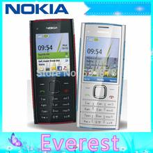X2 Original Nokia X2-00 Bluetooth FM JAVA 5MP Unlocked Mobile Phone Free Shipping(China (Mainland))