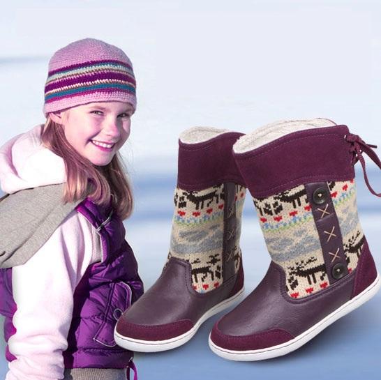 Ботинки для девочек skidproof