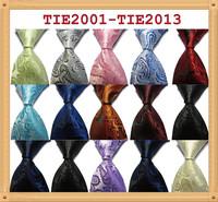 New Silk Classic Paisley Mix Color JACQUARD WOVEN Silk Men's Tie Necktie
