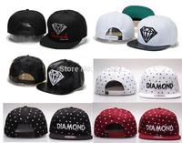 2014 Brand New  Diamond Snapback  Caps  Snap back Basketball HIpop Sport Hats