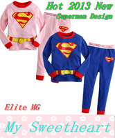 New year Children's Superman costume role-playing , children Christmas clothing, boys and girls suits, costumes for children