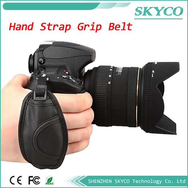 Brand new High Quality Black Camera Wrist Strap / Hand Grip for Canon Nikon Sony Olympus SLR/DSLR(China (Mainland))