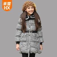 High quality,original brand children girl thick down coat,kids white duck down coat,child medium-long down jacket outerwear,Y45