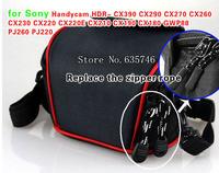 Camcorder Case DV Bag for Sony Handycam HDR- CX390 CX290 CX270 CX260 CX230 CX220 CX220E CX210 CX190 CX180 GWP88 PJ260 PJ220