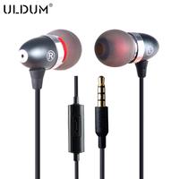 New 2014 bass mp3 mp4 earphone headphone with mic stereo headset for phone