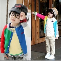 2013 hot selling child clothes boy outwear jacket cotton kids coat baby clothing