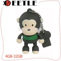 usb 2.0 flash drive usb falsh memory pen drive stick 4gb u disk 8gb 16gb 32gb flash card monkey usb