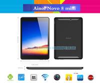 7.85 inch Original ainol novo8 mini  Dual Core mini tablet pc 1024x768 pixels Android 4.1 ATM702 1.4GHz HDMI Dual Camera
