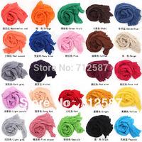free shipping  Women's Fashion Pure Candy  Scarf Wrap Shawl HOT 5429