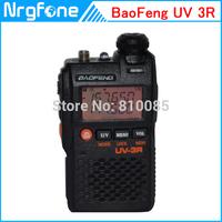 Newest FM Ham Radio LCD Dual Band Two-Way Radio Baofeng BF UV 3R 5-8KM Distance Walkie Talkie 2W FM