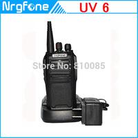 BaoFeng Newest BF UV-6 5W 128CH UV Cross Band FM Dual Band Two-way radio Walkie Talkie VHF 136-174MHZ UHF 400-520MHZ