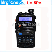 New 5W WalkieTalkie Baofeng UV-5RA with Earphone 128CH UHF+VHF DTMF VOX Metal 2-way Amateur Ham Radio A0888A interphone