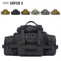 New Large Tablet Camera Tactical Gear Military Waterproof Waist Shoulder Tote Bag Trekking Ripstop Woodland Surplus Security
