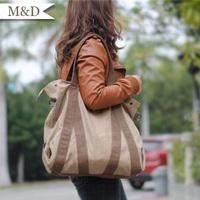 Fashion Women's Canvas Handbag Casual Messenger Bag Tote Bag Vintage Women's bag