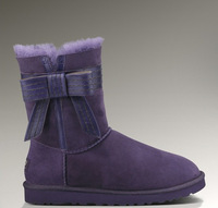 cheap top quality Australian boots for women new 2014 free drop shipping, fashion women bailey bow snow boots on sale