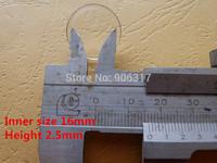 Acrylic High Definition Plastic box 16mm  Direct Fit Holders 10000 pcs/lot