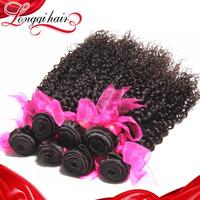 Cheap Malaysian Curly Hair 3 Bundles Lot 6A Unprocessed Malaysian Virgin Hair Weave Bundles Jerry Curly Free Shipping LQMJC001