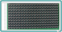 P16 outdoor full color led modules 320mm*160mm 20dots*10dots