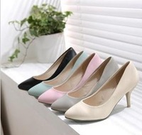 2013 sapatos feminino Pointed toe high-heeled shoes thin heels Stillettos Zapatos women's pumps high-heeled shoes female scarpin