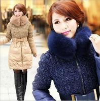 Long women Down Parkas winter clothing coats women's clothes outerwear Large Size xxl COAT-106
