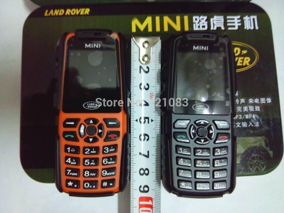 Metal Box Mini A8N / A9N waterproof dustproof mobile Phone 2 Sim 2880mAh QuadBand outdoor phone Hot A8i A11 A8S L8 B30 B36(China (Mainland))