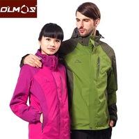 2013 New Men's Jackets Fleece Jackets waterproof breathable two-piece  S0051