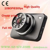 New 2013 arrival top selling Car DVR G-Sensor Full HD 1920*1080P @30FPS WDR 4*Digital Zoom Wholesale dropship