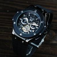 brand JARGAR luminous dress Large dial casual watch men sports fashion Luxury Wrist Multifunction mechanical watch Husband gift